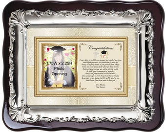 Graduation Picture Frame Personalized Graduate Photo Frame Gift for College or High School Students