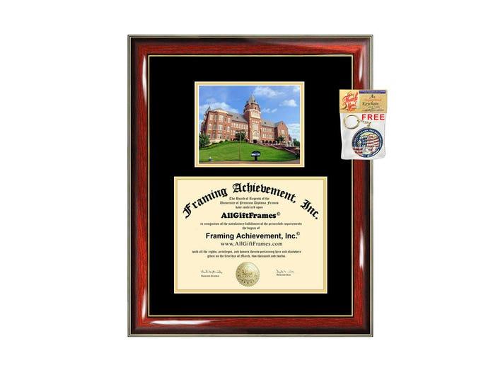 Saint Louis University diploma frame campus SLU certificate degree frames framing gift graduation frames plaque certification document