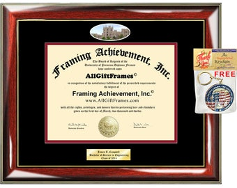 Northern Illinois University diploma frame NIU school picture Personalized Bachelor Master Doctorate phd mba Engrave Holder Case
