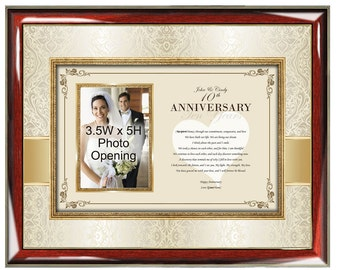 Anniversary Gift Poetry Picture Frame Personalized Poetry Gifts Love Romantic Present Birthday