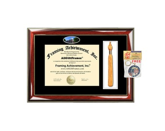 University of North Georgia diploma frame UNG tassel box holder school campus photo  bachelor master mba phd framing certificate