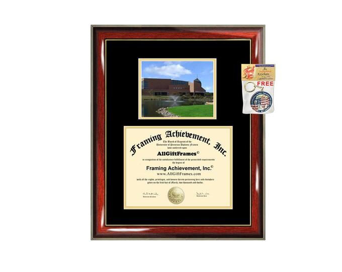 Cedarville University diploma frame campus certificate Cedarville degree frames framing gift graduation plaque document graduate alumni