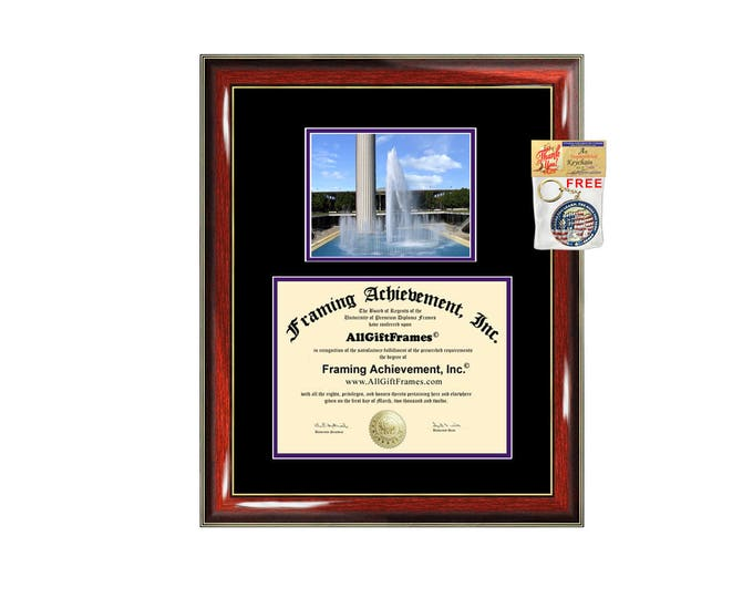 University at Albany SUNY diploma frame campus degree certificate framing gift graduation frames document plaque certification graduate