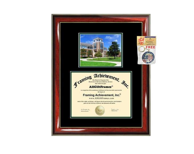EMU diploma frame certificate Eastern Michigan University degree campus frames framing gift graduation plaque document college graduate