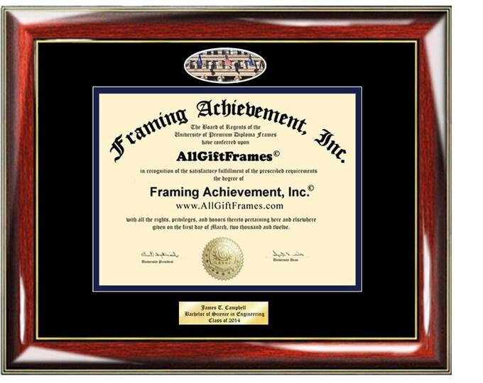 National Louis University diploma frame certificate Personalized Bachelor Master NLU mba Engrave Holder Case Degree Framing Graduate Gift