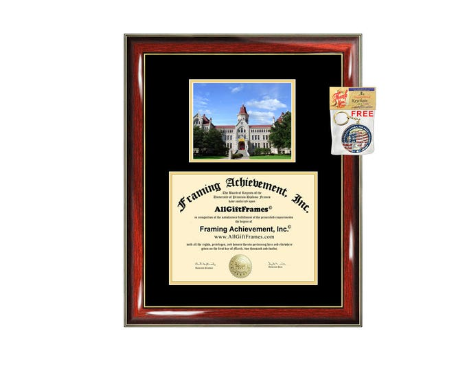 Saint Edwards University diploma frame campus certificate SEU degree frames framing gift graduation frames plaque certification document