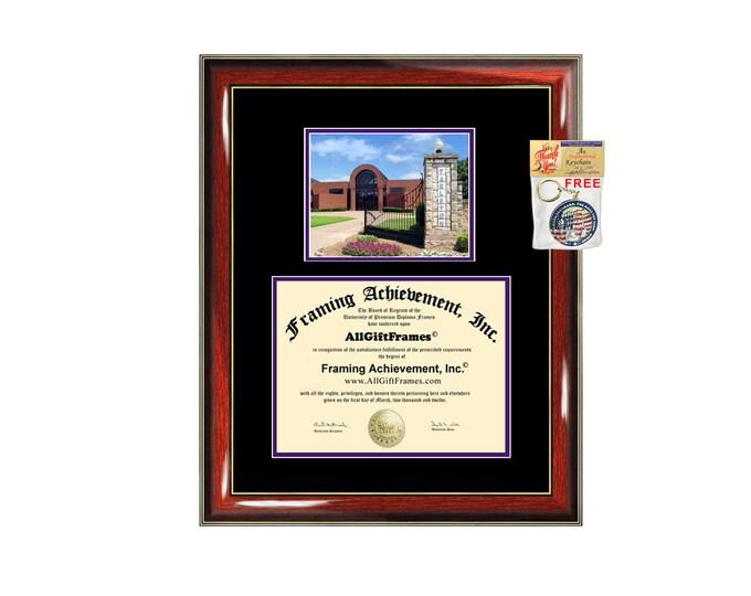 Tarleton State University diploma frame campus degree certificate TSU framing gift graduation frames plaque certification graduate document