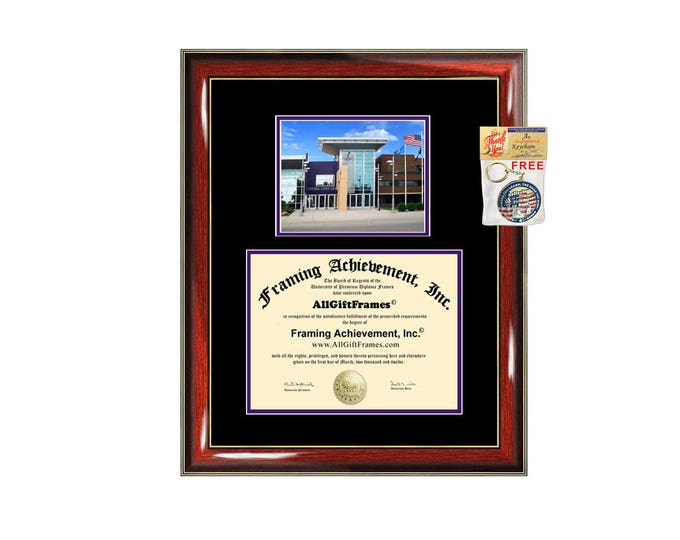 Minnesota State University Mankato diploma frame MNSU degree frames campus certificate framing gift graduation plaque document