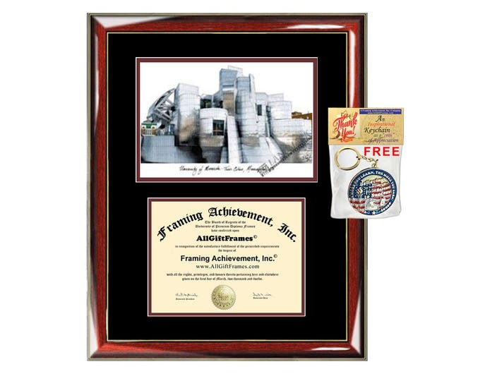 University of Minnesota diploma frames lithograph frame sketch certificate framing UMN graduation degree gift college plaque graduate plaque