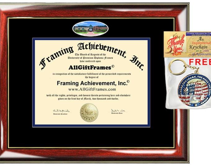 UTSA diploma frame University Texas San Antonio campus photo certificate framing graduation picture document college graduation gift plaque