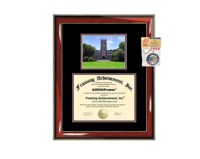 Fordham University diploma frame campus certificate Fordham college degree frames framing gift graduation plaque document graduate alumni
