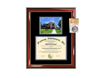 CSUB diploma frame California State University Bakersfield certificate framing graduation gift graduate Cal State plaque campus photo