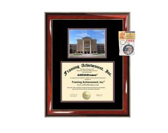 WTAMU diploma frame West Texas A&M University certificate framing graduation document college degree plaque graduate campus photo