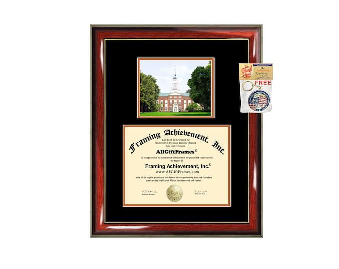 Bucknell University diploma frame Bucknell degree frames framing gift campus certificate graduation plaque document graduate alumni