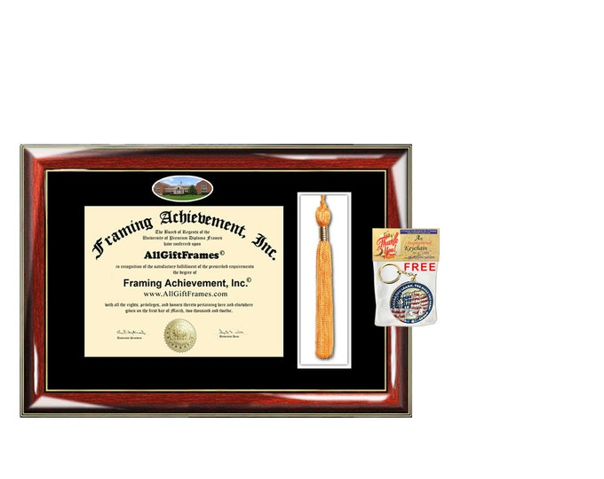 University of Maryland University College diploma frames UMUC Graduation Tassel Holder Box Campus Picture Graduate Gift Plaque case alumni