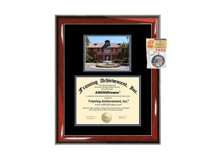 Marylhurst University diploma frame campus school picture certificate framing graduation gift document college plaque degree holder case