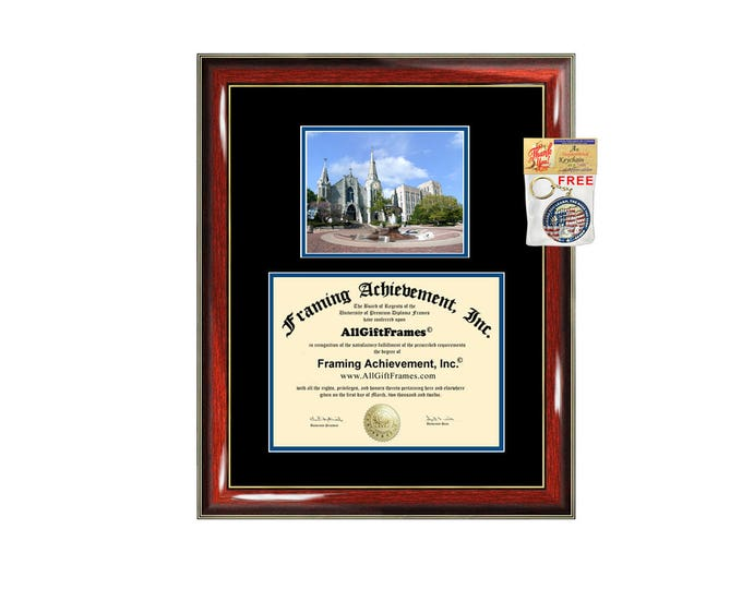 Creighton University diploma frame Creighton degree frames framing gift graduation campus certificate plaque document graduate alumni