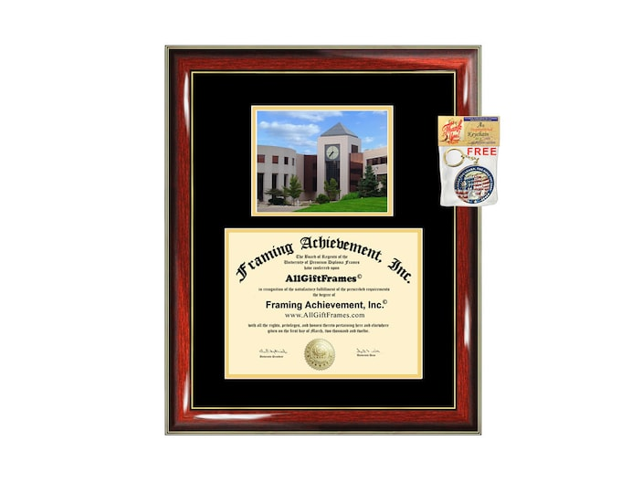 WMU diploma frame Western Michigan University certificate framing graduation WMU document college degree plaque campus photo graduate