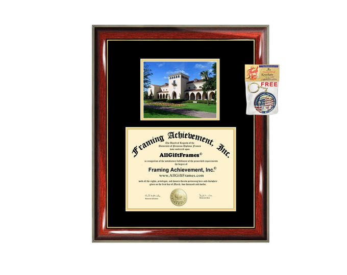 Rollins College diploma frame campus degree certificate framing gift graduation university frames plaque certification award document