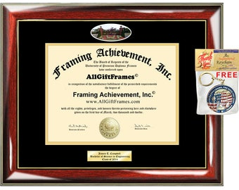 LIU Post diploma frame Long Island University degree school picture campus Personalized Bachelor Master Doctorate phd mba Engrave Holder