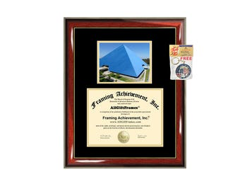CSULB diploma frame California State University Long Beach certificate framing campus photo graduation Cal State document college plaque