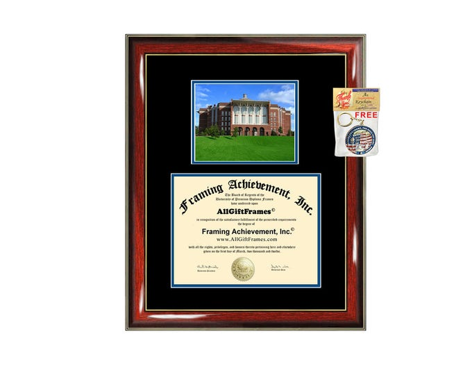 University of Kentucky diploma frame campus picture UK certificate framing graduation document college degree MSU plaque graduate holder