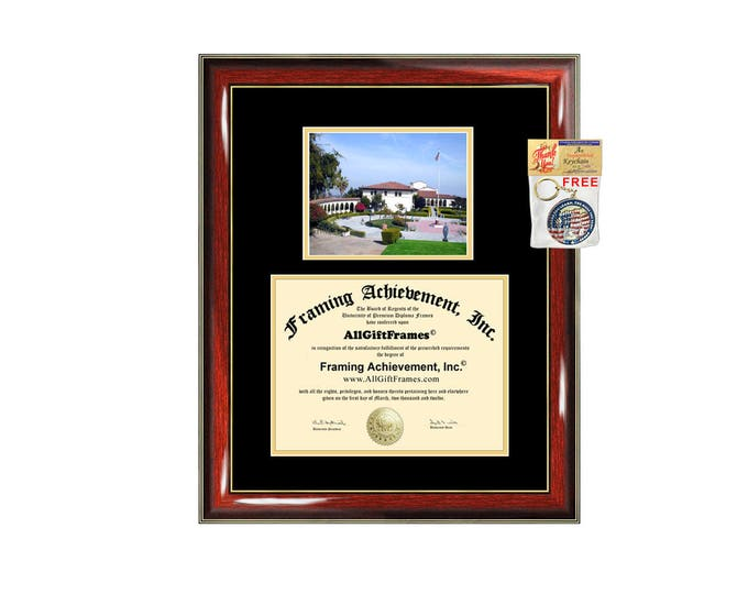 Mount Saint Marys College diploma frame campus certificate MSMC degree frames framing gift graduation plaque document certification