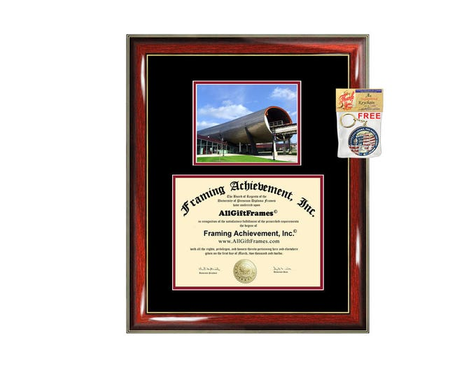 Illinois Institute of Technology IIT diploma frame campus certificate IIT degree frames framing gift graduation plaque document college
