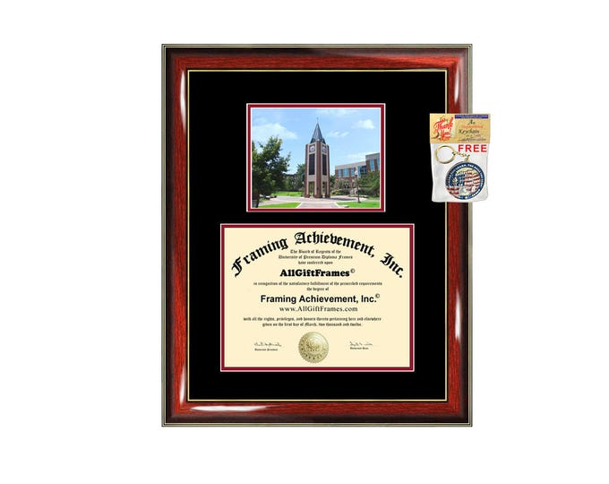 UIW diploma frame University of the Incarnate Word certificate graduation gift college plaque framing degree campus photo UIW