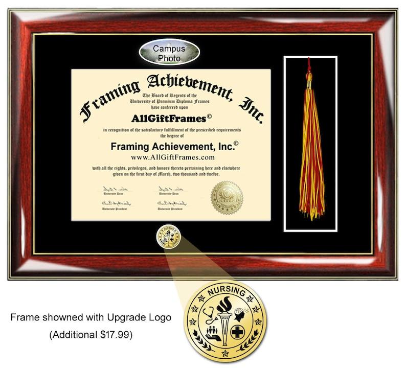 Sacred Heart University diploma frames SHU tassel holder plaque case graduation degree gift college certificate framing certification grad