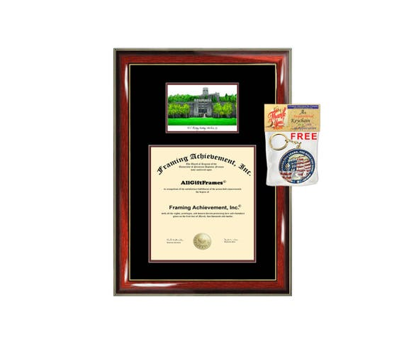 US Military Academy diploma frame lithograph West Point campus | Etsy