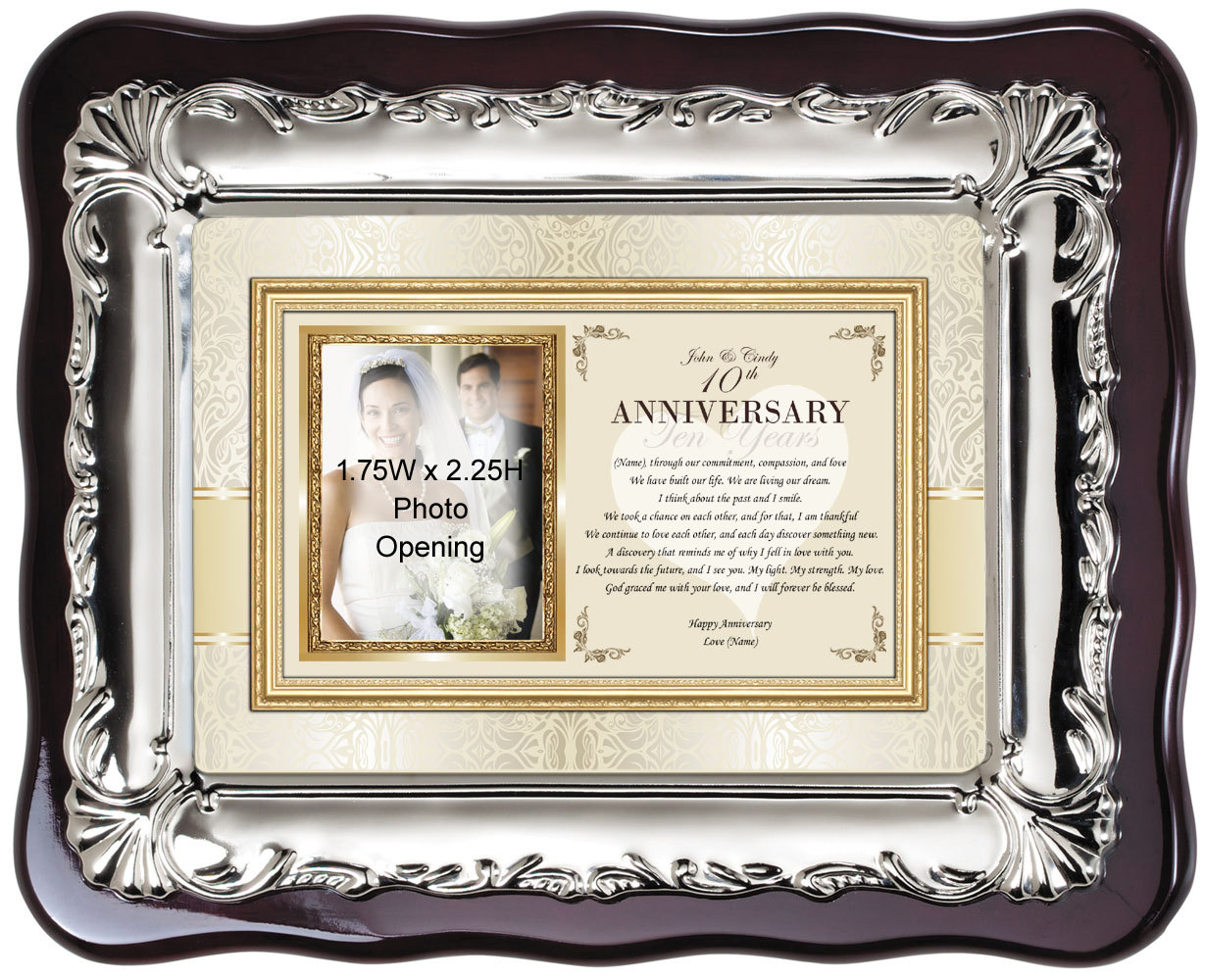 Personalized Anniversary Photo Frame Gift Picture Frame For Wife