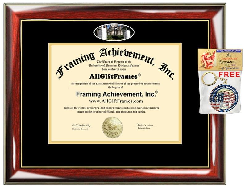 26d6ac7e911f Emory University diploma frame college degree frames framing   Etsy