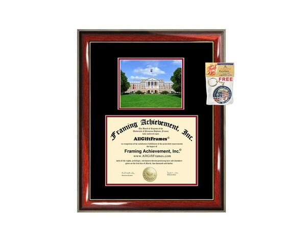 UWM diploma frame University of Wisconsin Madison certificate | Etsy