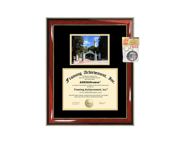 UC Berkeley diploma frame UCB University of California | Etsy