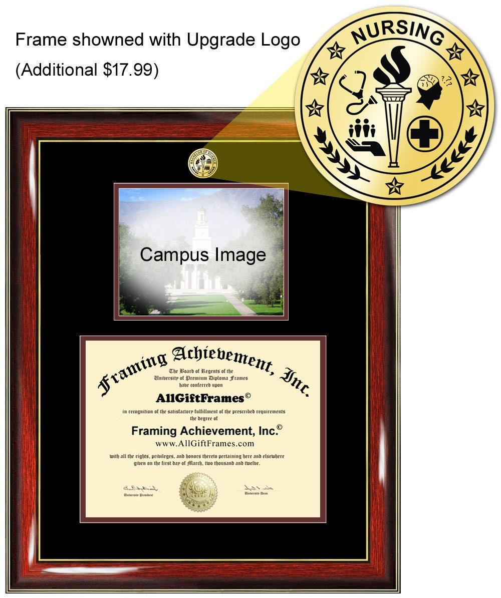 Long Island University Diploma Frame Liu Brooklyn