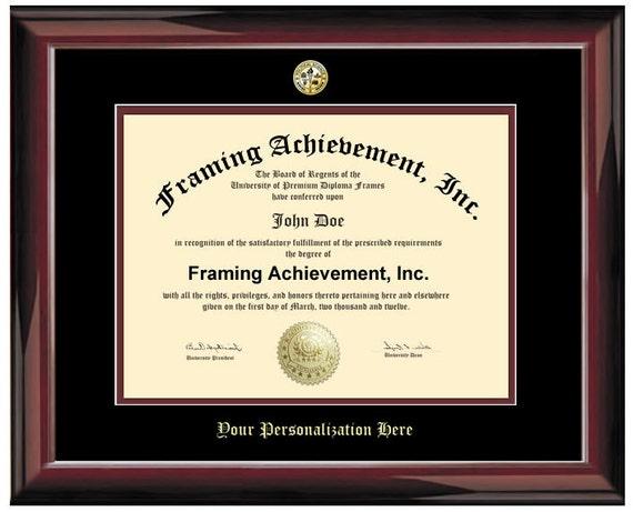 Diploma Frame University Graduation Degree Frames Glossy | Etsy
