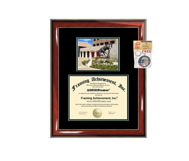 UTRGV diploma frame University Texas Rio Grande Valley Pan | Etsy