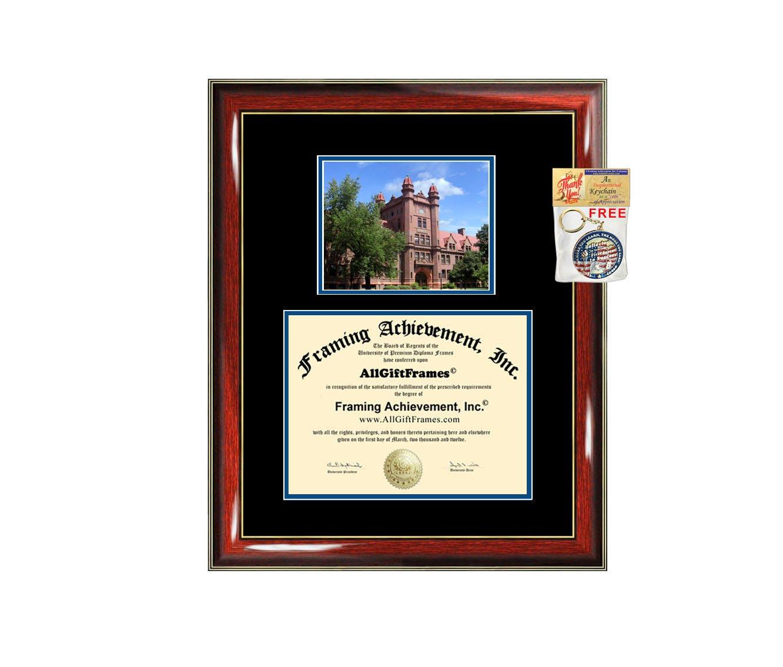 Millikin University diploma frame campus certificate Millikin