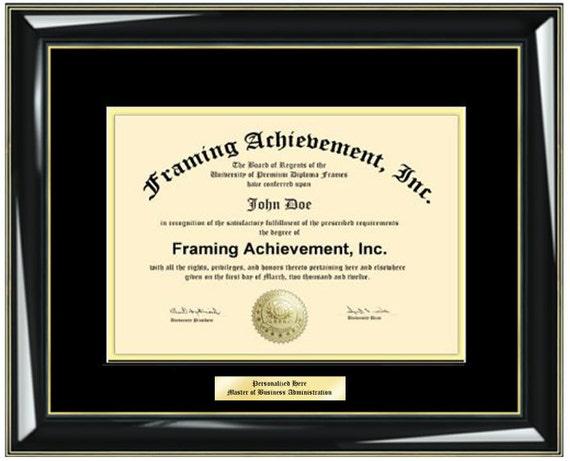 Diploma Frames College Diploma Framing Graduation Gifts | Etsy