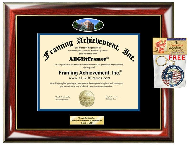 Northern Arizona University diploma frame NAU degree school Personalized Bachelor Master Doctorate phd mba Engrave Holder Case