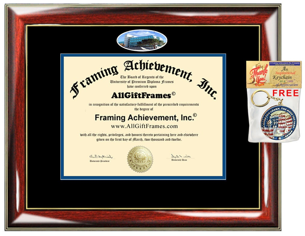 uci diploma frame university california irvine campus picture