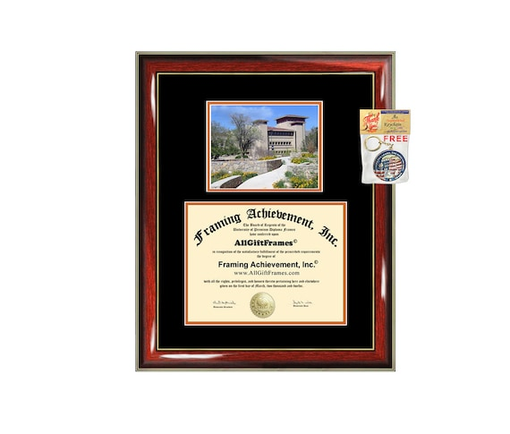 Utep Diploma Frame University Of Texas El Paso Certificate Etsy