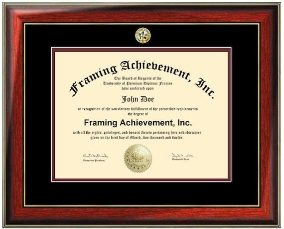 Marco de Diploma de certificado Marcos Universidad