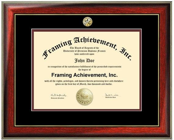 Certificate Frames University Diploma Frame Graduation | Etsy