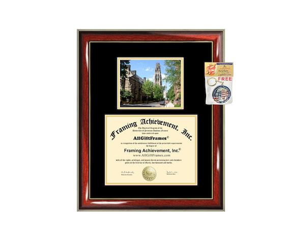 Yale University diploma frame certificate framing graduation | Etsy