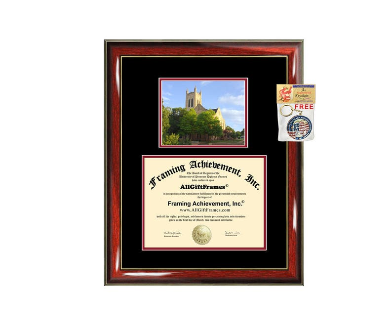 Northern Oklahoma College diploma frame campus certificate NOC degree frames framing gift graduation plaque document graduate
