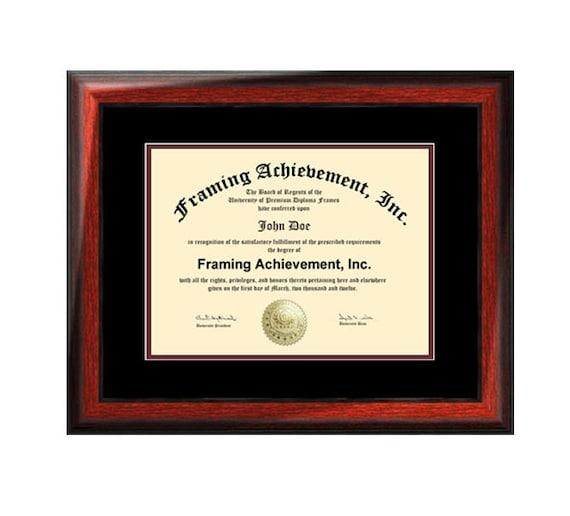 Estera de certificado Marcos Colegio grado graduación Diploma