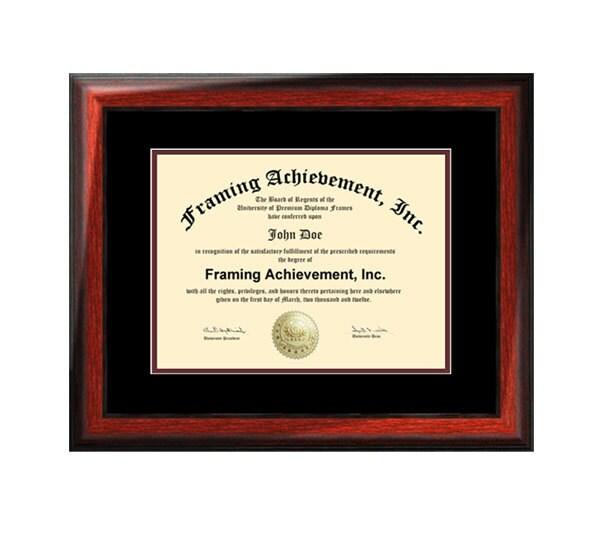 Estera de certificado Marcos Colegio grado graduación Diploma   Etsy