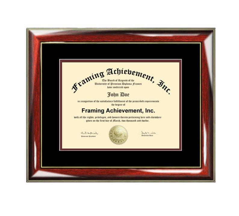 1677890aeed Certificate Frame University Diploma Frames High School Degree